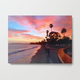 "Sunsets ""The Wall"" Metal Print"