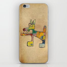 Dog Abstract iPhone Skin