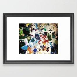 Bl ob Framed Art Print