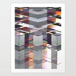 PRISMATIC GLASS LIGHT 1 Art Print