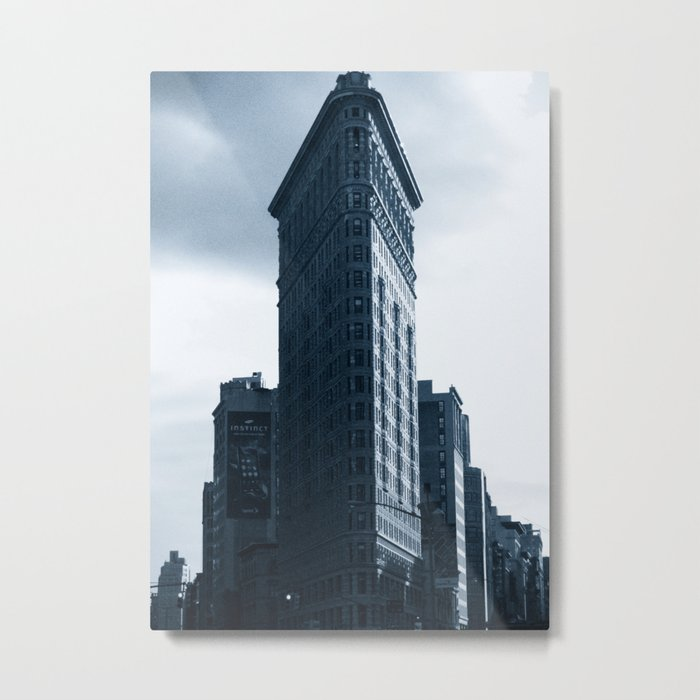 The Flatiron Building Metal Print