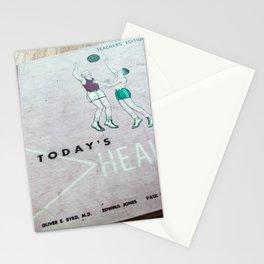 Vintage Schoolbooks, Left Behind Stationery Cards
