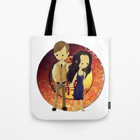 firefly Tote Bags featuring Firefly by Keri Lynne