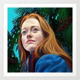 Anne with an E - Fan Art Art Print
