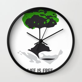 Cost of life Wall Clock