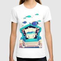 underwater T-shirts featuring Underwater by Coralus