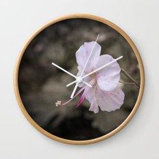 Delicate Reach Wall Clock