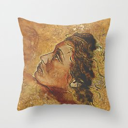 Yearning~ Woman Throw Pillow