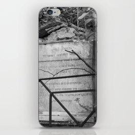 memorial iPhone Skin