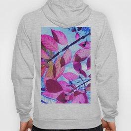 Pink Leaves Hoody