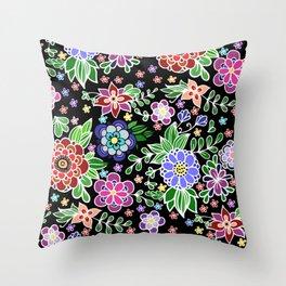 Summer pattern Throw Pillow