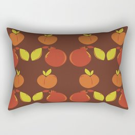 Peaches, Pomegranates, & Lemons Rectangular Pillow