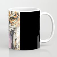 jaws Mugs featuring Jaws by Heaven7