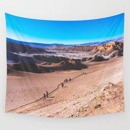 Valle de la Luna (Moon Valley) in San Pedro de Atacama, Chile 3 Wall Tapestry
