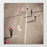 arrow Canvas Prints featuring Arrow by Sébastien BOUVIER