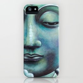 Buddha Lotus iPhone Case