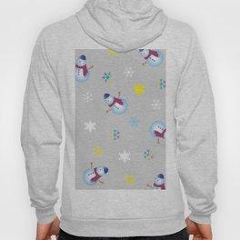 Snowflakes & Snowman_A Hoody