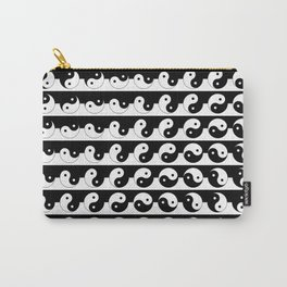 Yin Yang Art Pattern Black & White #society6 #decor #design #lifestyle Carry-All Pouch