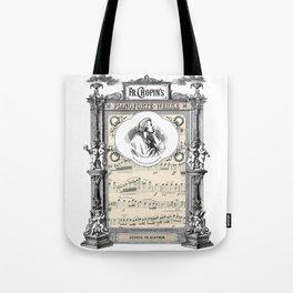 Frederick Chopin Polonaise art Tote Bag