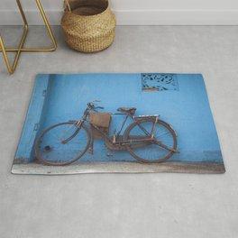 Indian Bicycle Rug