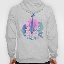 "VIOLIN by collection ""Music"" Hoody"