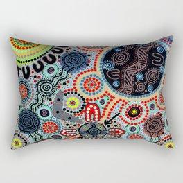 Yindyamarra - Respect the Process Rectangular Pillow