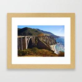 Coastline Cruising Framed Art Print