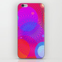 Re-Created Twisters No. 6 by Robert S. Lee iPhone Skin