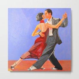Lovers Dancing Metal Print