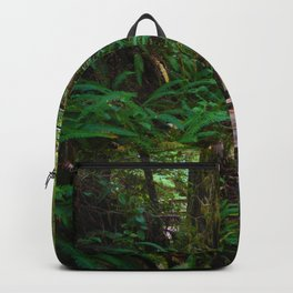 Walks through the Rainforest on Vancouver Island, Canada Backpack