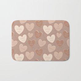 Sweet Hearts Bath Mat