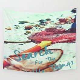 The Little Things Wall Tapestry