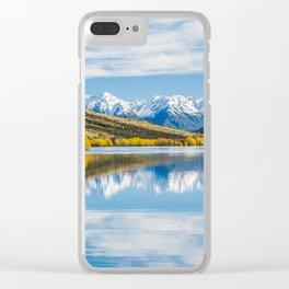 Lake Selfe Clear iPhone Case