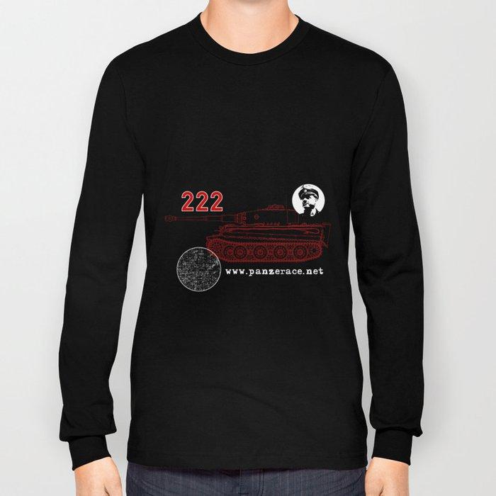 Michael Wittmann Panzer Ace 222 Villers Bocage Black Long Sleeve T-shirt