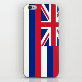 Hawaiian Flag, Official color & scale iPhone Skin