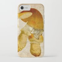 mortal instruments iPhone & iPod Cases featuring Mortal mushroom by Ganech joe