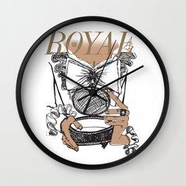 Royal Box Wall Clock
