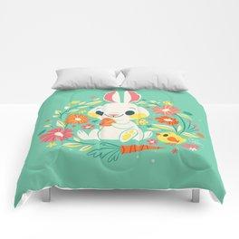 Sweetest Easter Bunny Comforters