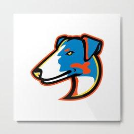 Smooth Fox Terrier Mascot Metal Print