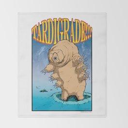 Tardigrade!! Throw Blanket