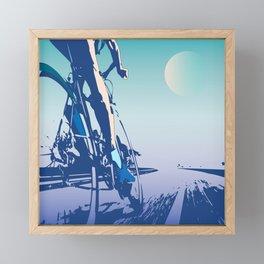 Vers la victoire Framed Mini Art Print