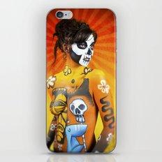 VooDoo Woman iPhone & iPod Skin