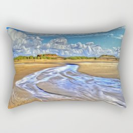 Low Tide Rectangular Pillow
