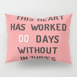 PEG BOARD SAFETY SIGN Pillow Sham