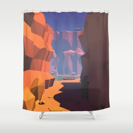 Boat Trip I Shower Curtain