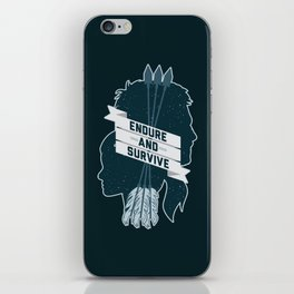 Endure and Survive iPhone Skin