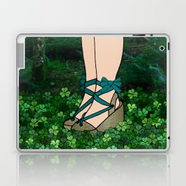 Stroll in an Irish Forest Laptop & iPad Skin