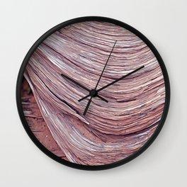 original wood texture Wall Clock