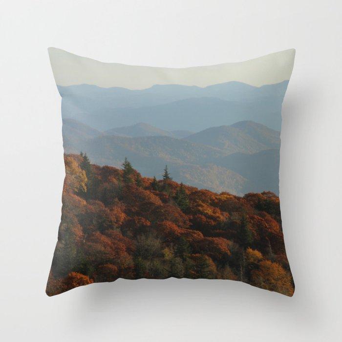 The Blue Ridge Mountains NC, Fine Art Photography Deko-Kissen