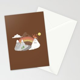 Volcano Fact Stationery Cards
